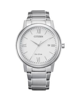 Citizen Eco-Drive Gents Silver Analogue 100Mtr Water Resistant Watch_0