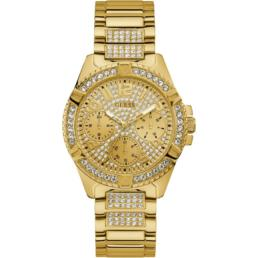 Guess Lady Frontier Gold Ladies Analogue with Stones_0
