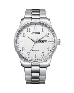 Citizen Gents Silver Eco-Drive Watch_0