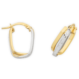 Gold Silver Filled Hoops_0