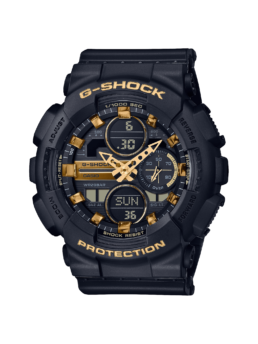 G-Shock Woman Black and Gold Duo_0