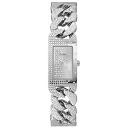 Guess Ladies Starlit Square Face Stone Set Chain Link_0