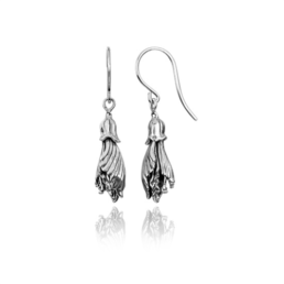 Evolve Kowhai (Happiness) silver drop earrings_0