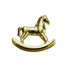 Gold Rocking Horse - Adored_0