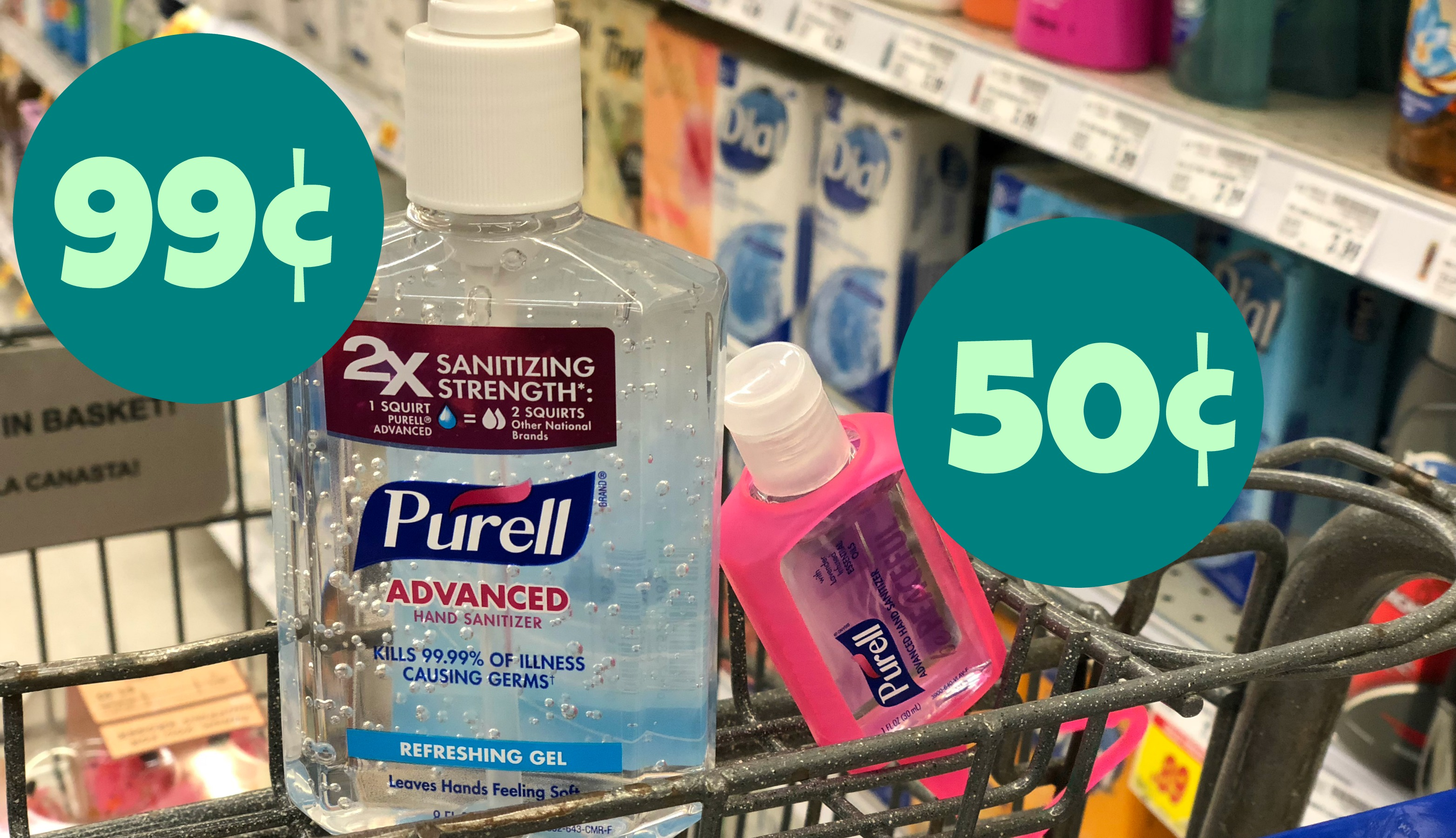 Great Deals On Purell Sanitizers At Kroger Pay Only 0 50 0 99