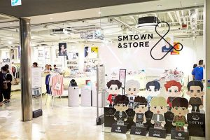 SM Town store