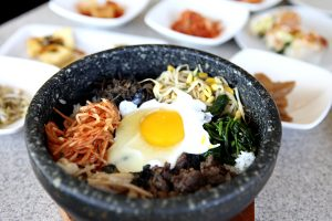 Korean food in Korea and America