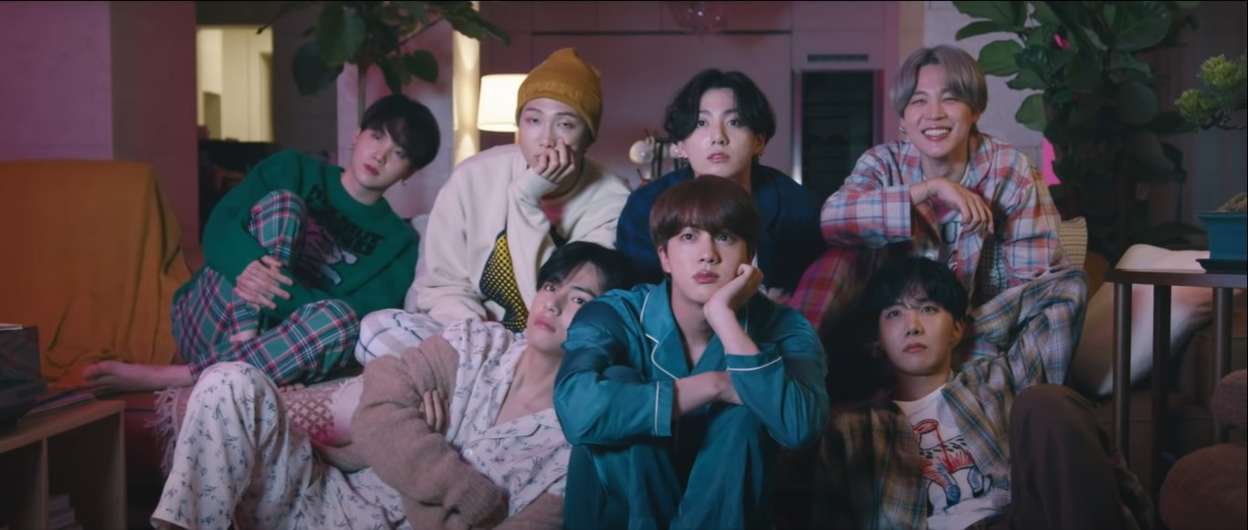 bts be deluxe edition life goes on music video