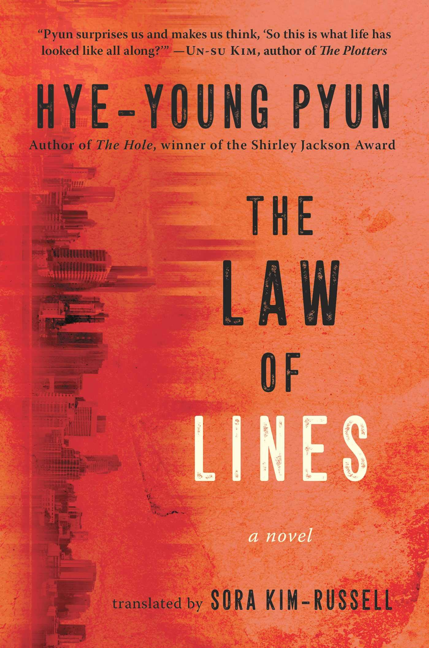 translated korean books the law of lines