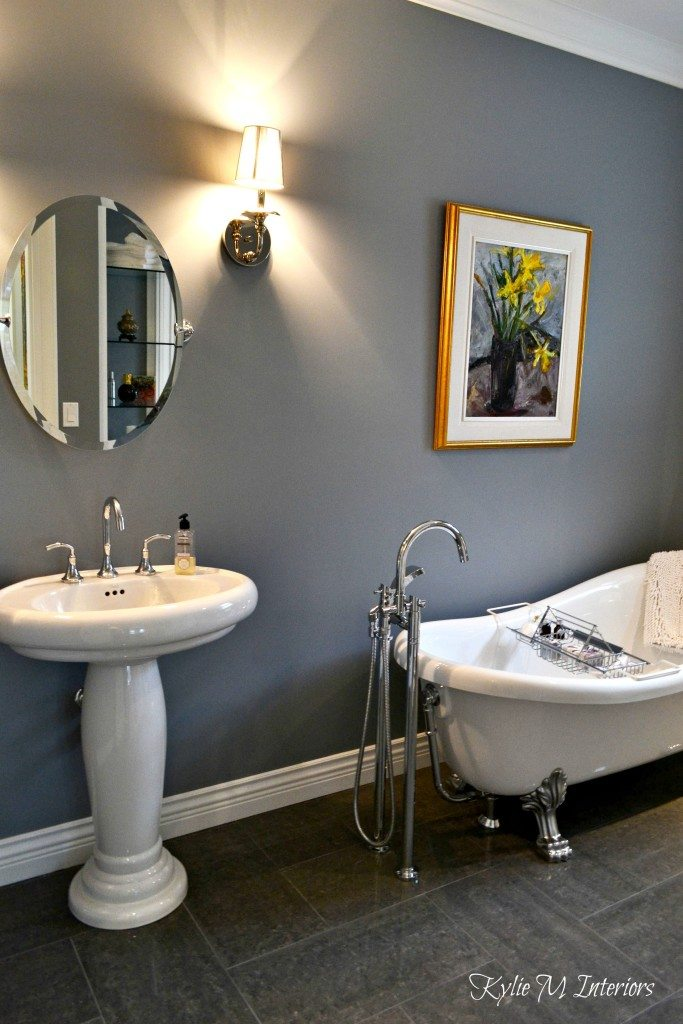 Best Paint Color For Bathroom With Grey Vanity