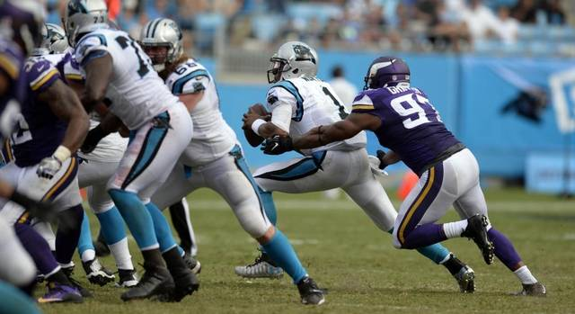 The Minnesota Vikings beat up on the Carolina Panthers in week 3 defeating them 22-10
