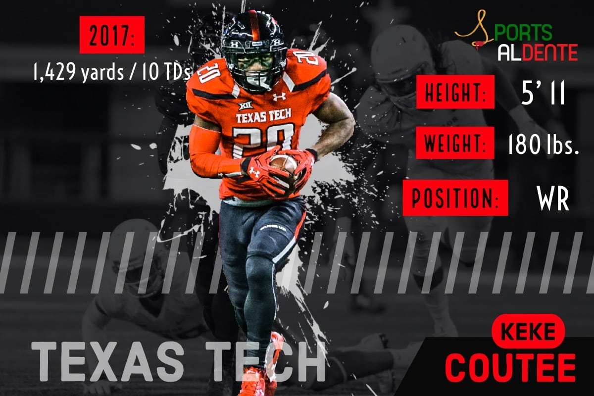 Keke Coutee NFL Draft Profile