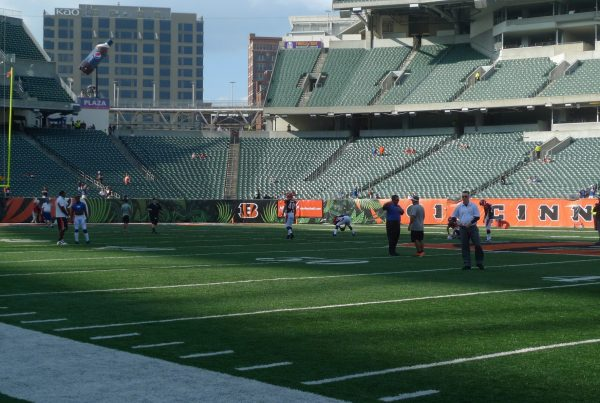 View From The Cincinnati Bengals Sideline. Photo Credit: Paul | Flickr - Under Creative Commons License