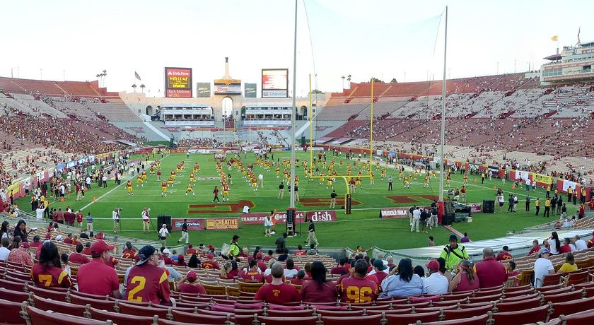 USC Football At The LA Coliseum. Photo Credit: chenjack | Under Creative Commons License