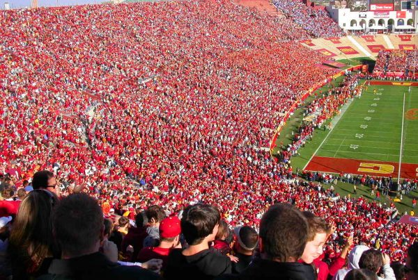 The Los Angeles Coliseum During A USC Football Game. Photo Credit: chenjack   Under Creative Commons License