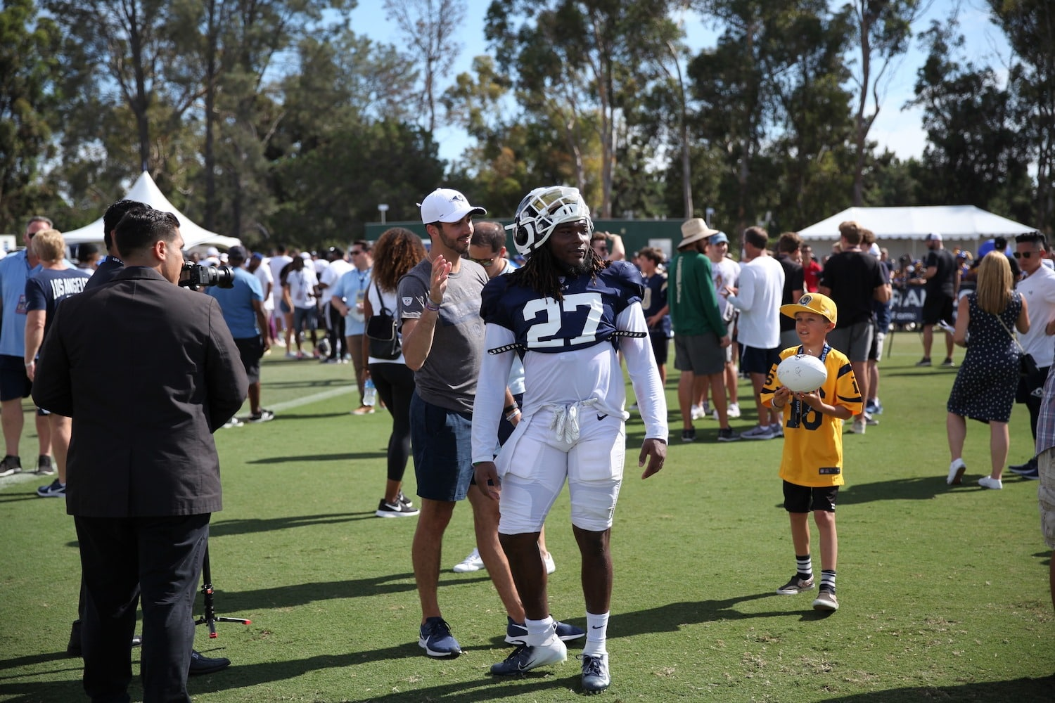 Is Darrell Henderson A Featured Running Back OR Better In Relief?