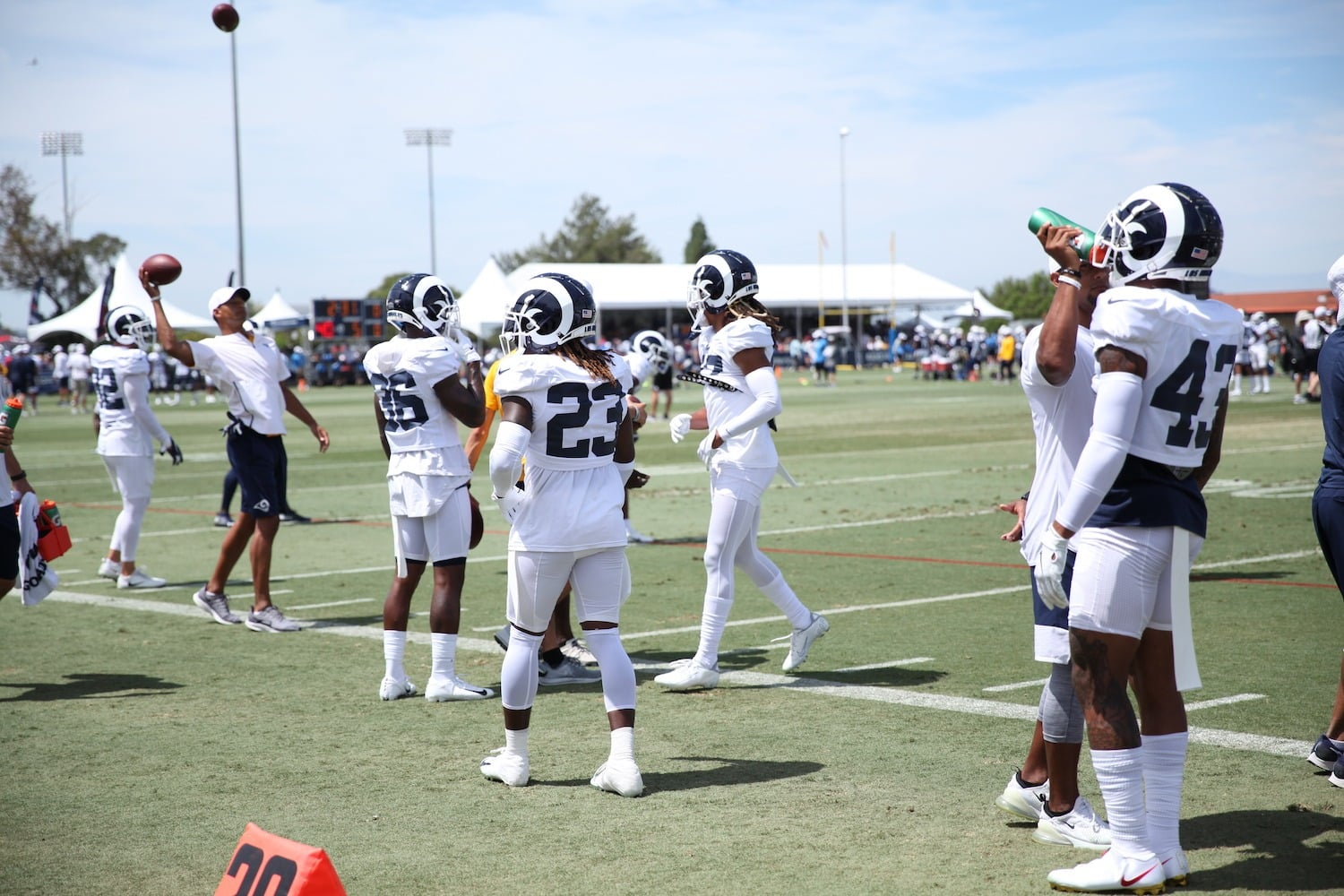 Young Safeties Could Boost Rams Defense