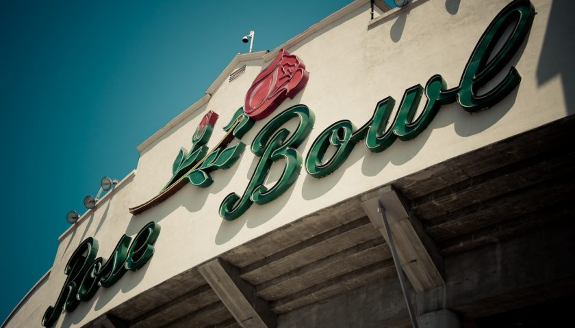 The Rose Bowl, Home Of The UCLA Bruins. Photo Credit: jcwpdx   Under Creative Commons License