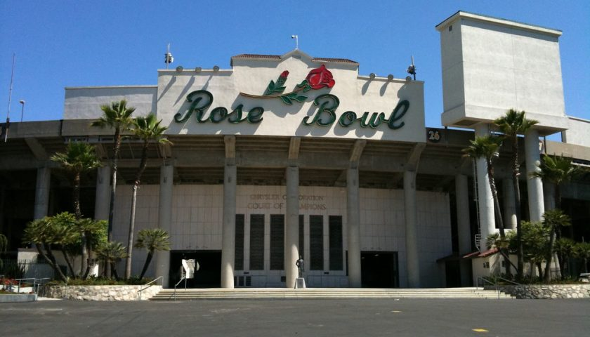 The Rose Bowl. Photo Credit: Aaron Stroot | Creative Commons License