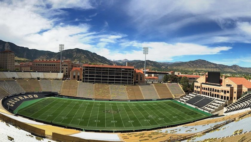 Folsom Field. Photo Credit: Carrie Lu   Under Creative Commons License