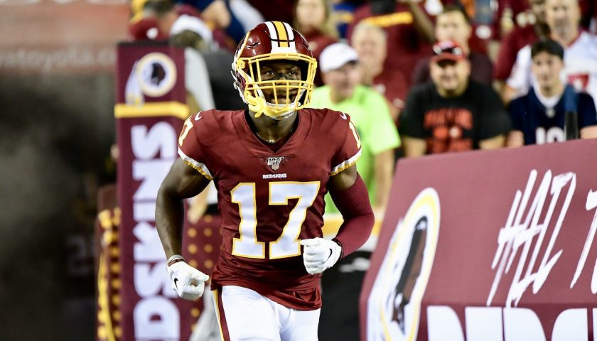 Washington Redskins Wide Receiver Terry McLaurin. Photo Credit: All Pro Reels   Joe Glorioso   Under Creative Commons License