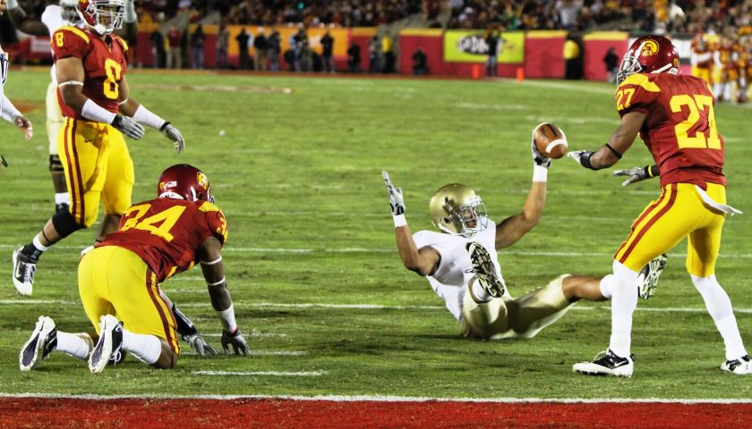 Notre Dame vs USC At The Los Angeles Coliseum. Photo Credit: Neon Tommy | Under Creative Commons License