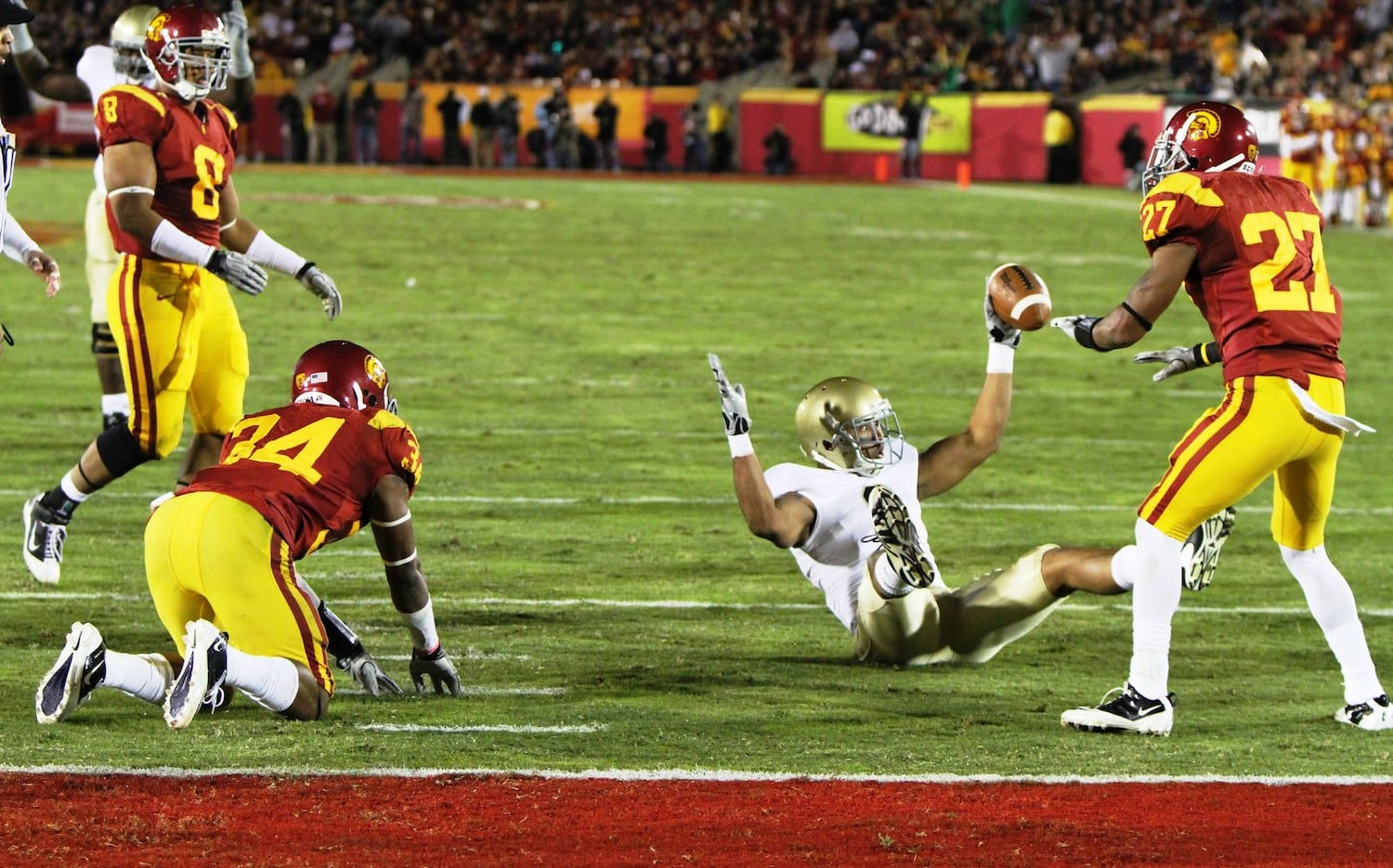 The USC And Notre Dame Rivalry