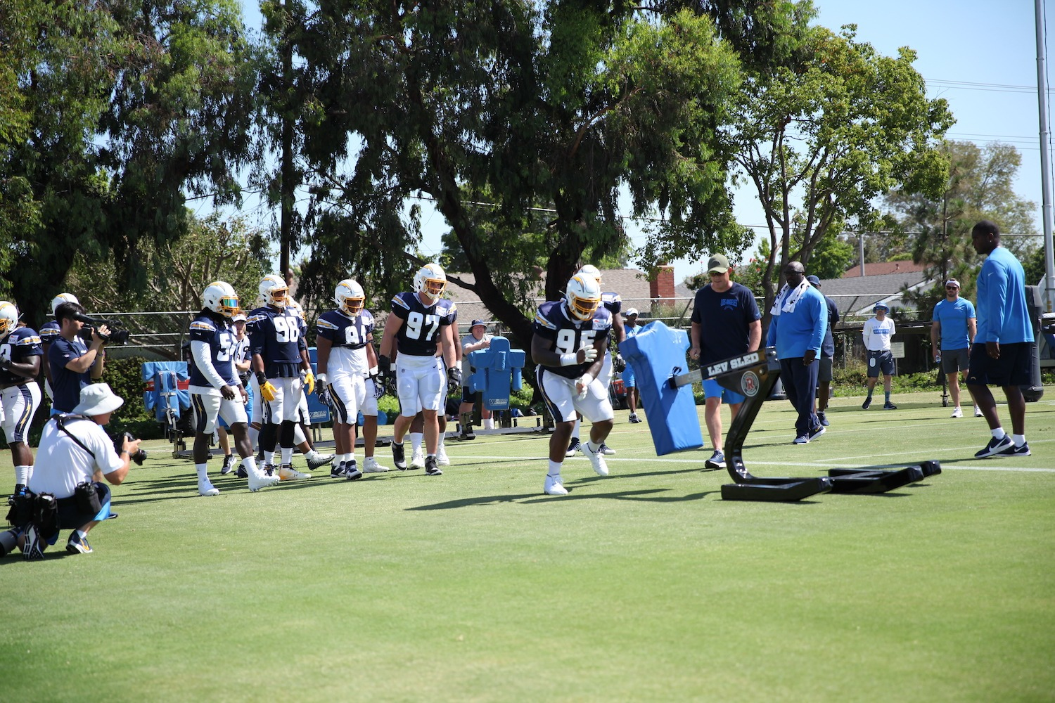 The Chargers Defensive Line: Week 10