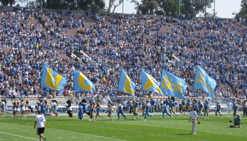 UCLA Bruins Football. Photo Credit: dabruins07   Under Creative Commons License