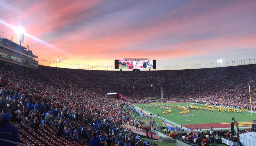 USC Vs UCLA At The Coliseum. Photo Credit: seaternity   Under Creative Commons License