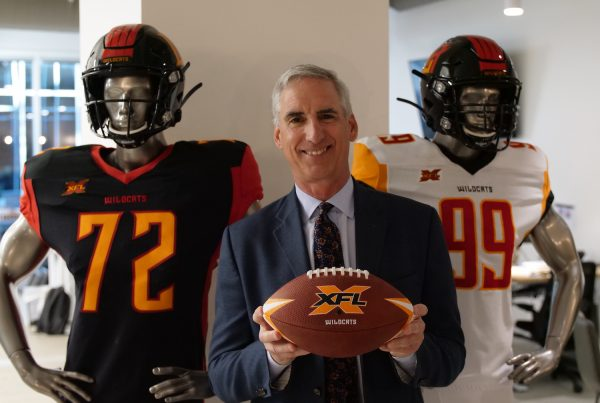 XFL Commissioner Oliver Luck. Photo Credit: LA Wildcats