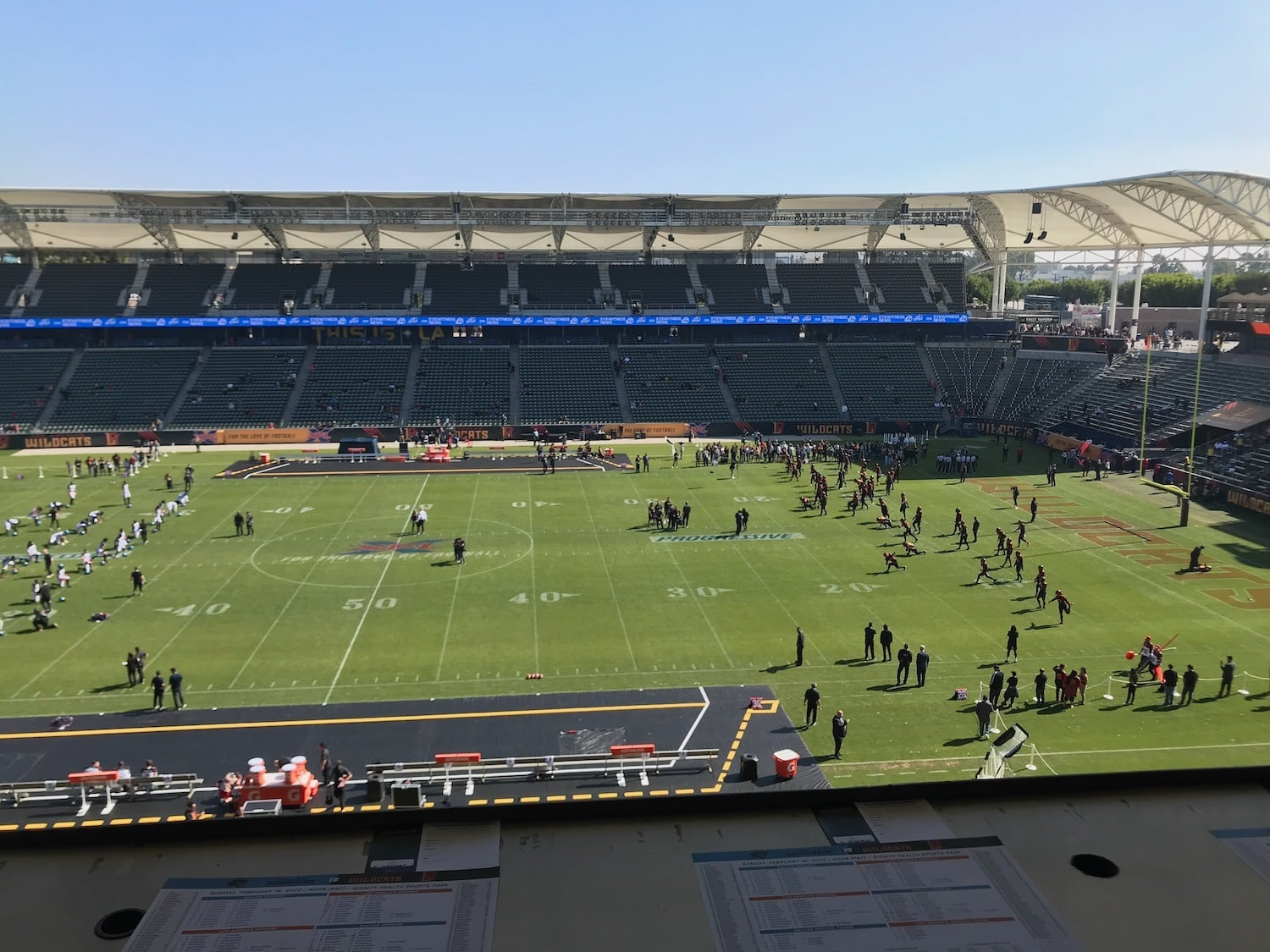 Football In February In Los Angeles: A Wildcats Story