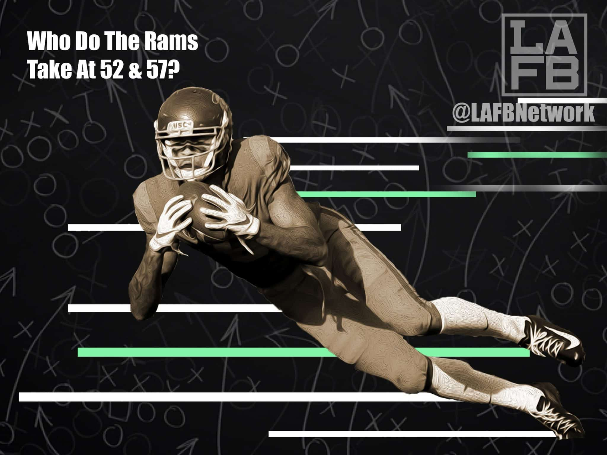 Who To Take At 52 And 57? Predicting The Rams 2nd Round Picks