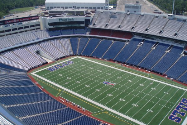 Buffalo Bills Stadium. Photo Credit: Mike Cardus | Under Creative Commons License
