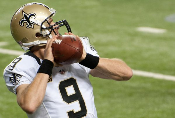 New Orleans Saints Quarterback Drew Brees. Photo Credit: Football Schedule | Under Creative Commons License