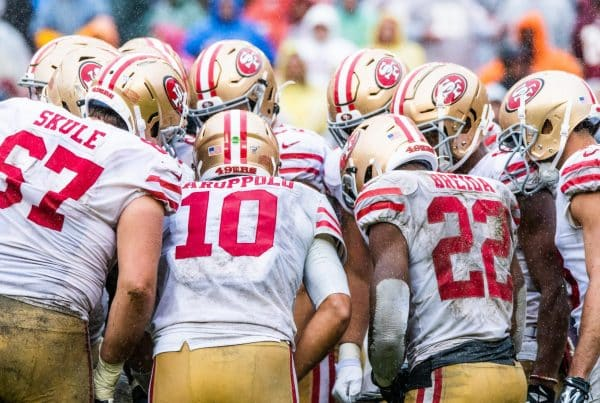 The San Francisco 49ers Offense. Photo Credit: Alexander Jonesi | Under Creative Commons License