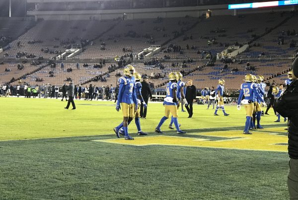 UCLA Bruins vs CAL Bears. Photo Credit: Ryan Dyrud | LAFB Network