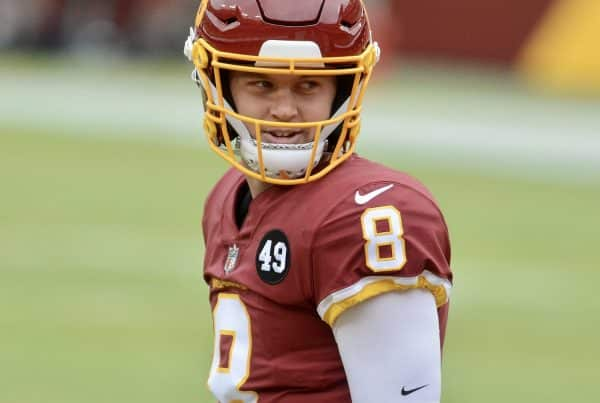 Washington Football Team Quarterback Kyle Allen. Photo Credit: All-Pro Reels | Under Creative Commons License