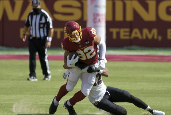 Washington Football Team Tight End Logan Thomas. Photo Credit: All-Pro Reels | Under Creative Commons License