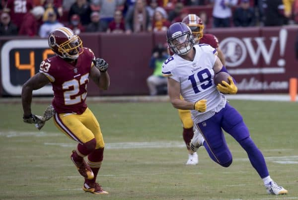 Minnesota Vikings Wide Receiver Adam Thielen. Photo Credit: Keith Allison | Creative Commons License