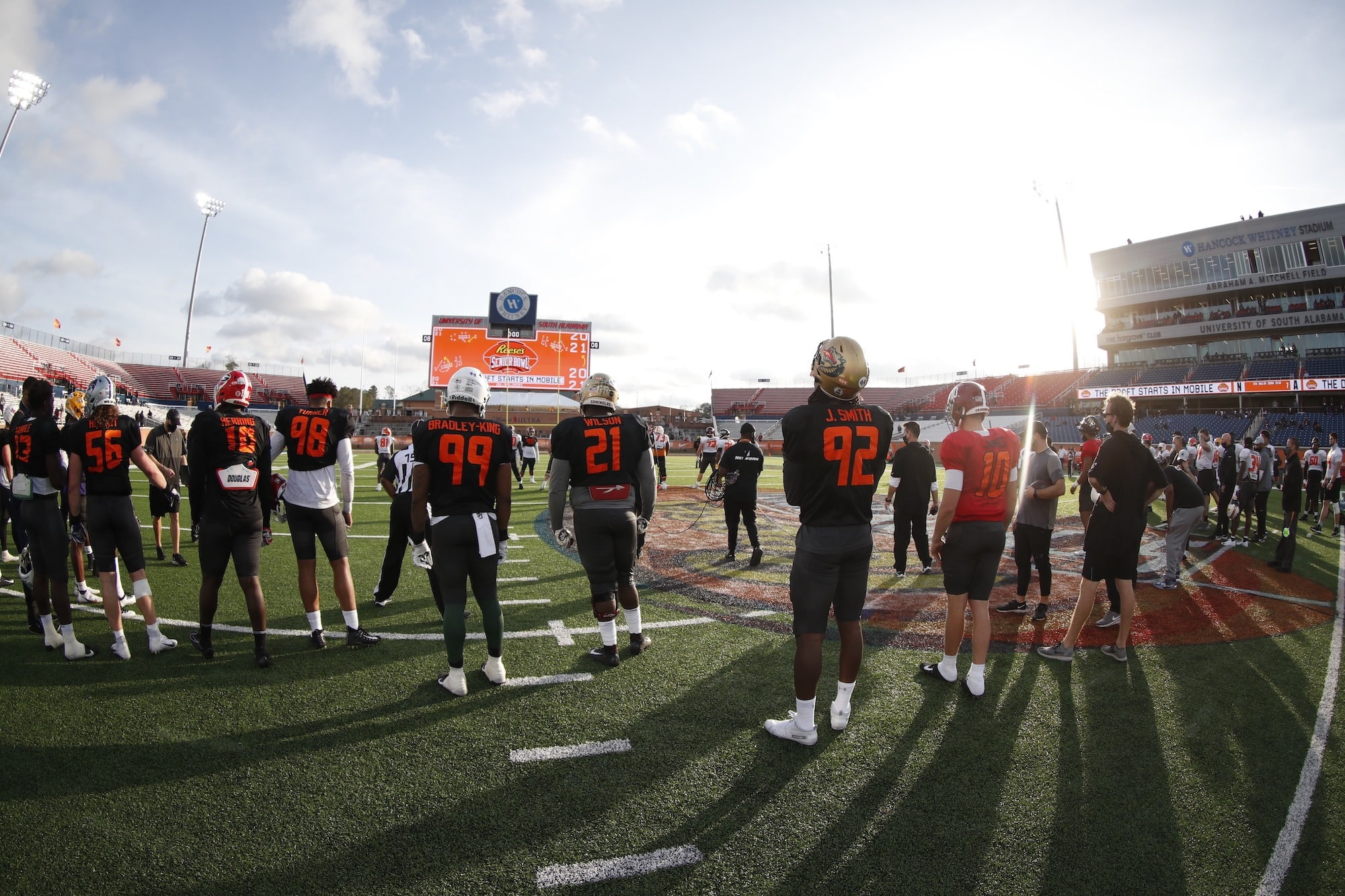 Winners From The 2021 Senior Bowl