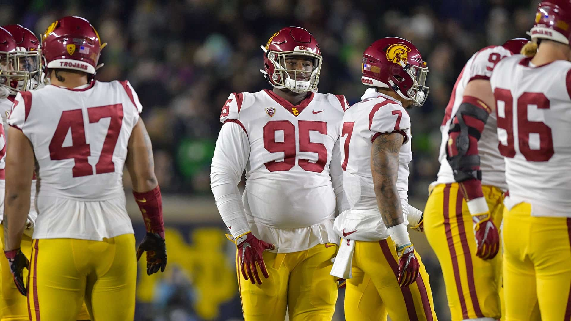 Former USC Football DL Trevor Trout Has Lots Of Activities Off The Field