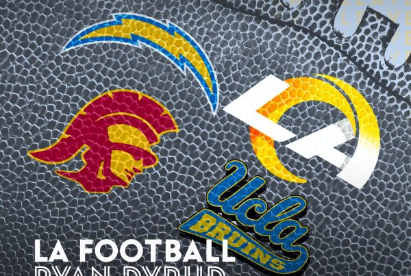 LA Football Podcast With Frostee Rucker And Ryan Dyrud.
