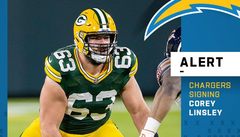 Chargers Land Corey Linsley and Matt Feiler On The First Day Of ...