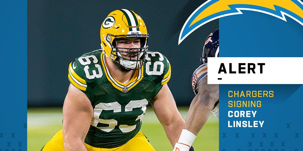 Chargers Land Corey Linsley and Matt Feiler On The First Day Of Free Agency