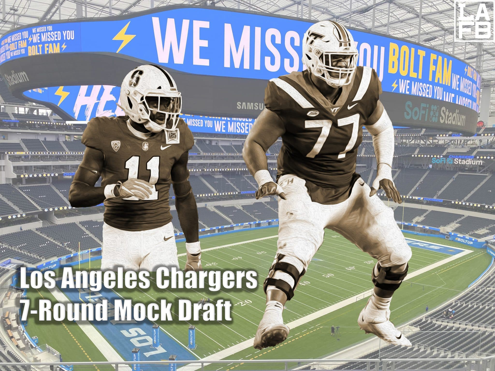 Final Los Angeles Chargers Mock Draft