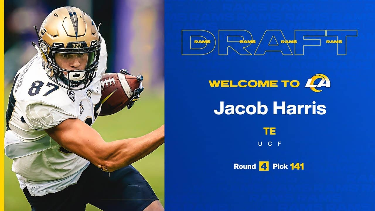 What Kind of Impact Will Rookie Tight End Jacob Harris Have For The Rams?