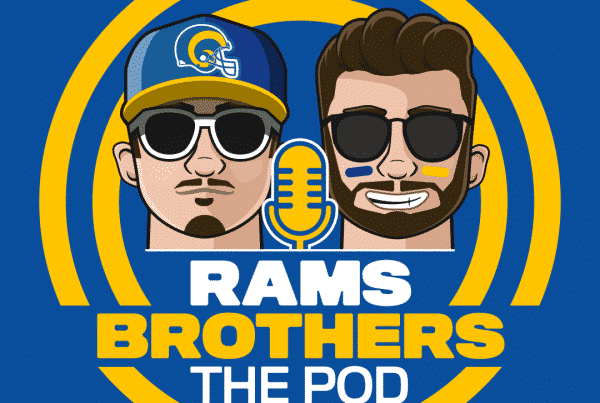 Rams Brothers Podcast. Part Of LAFB Network.