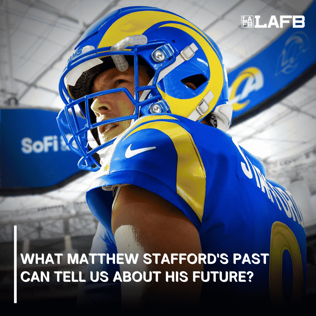 What Matthew Stafford's Past Can Tell Us About His Future