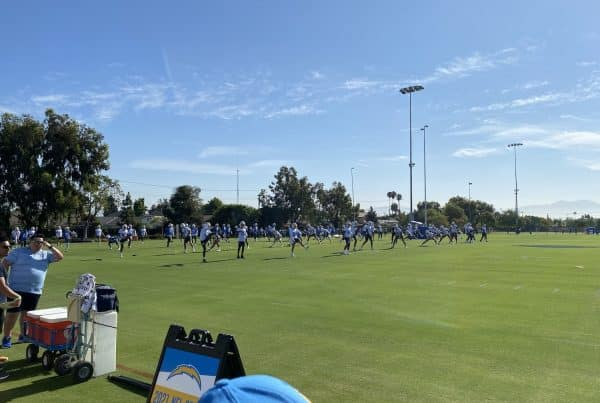 Los Angeles Chargers Training Camp 2021. Photo Credit: Ryan Dyrud | LAFB Network
